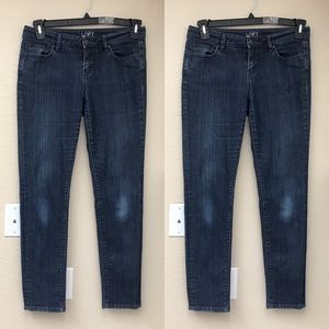Ann Taylor Loft Dark Wash Modern Skinny Jeans